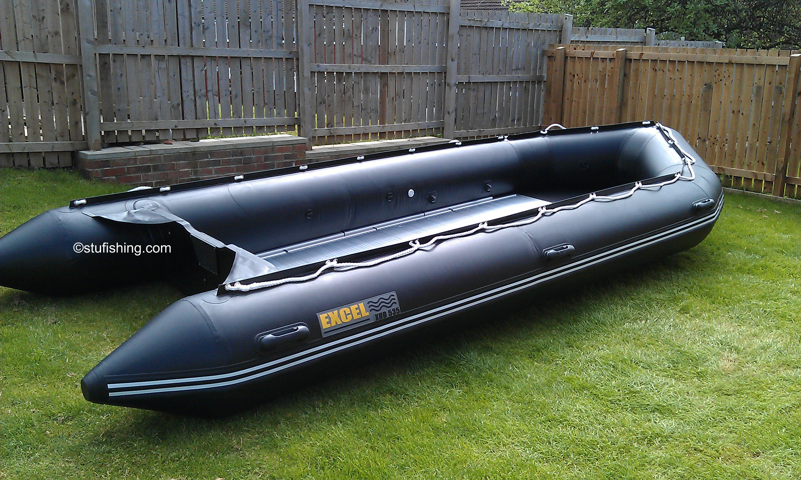 Excel Inflatable Boat – 535 XHD – The Big One