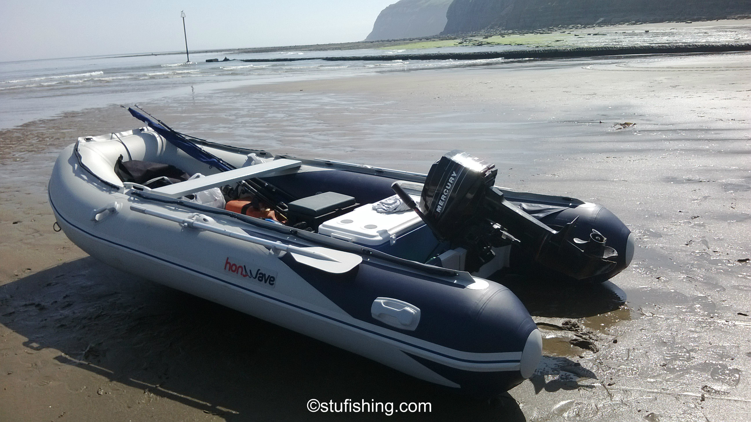 The Honda Honwave T40-AE Inflatable Boat