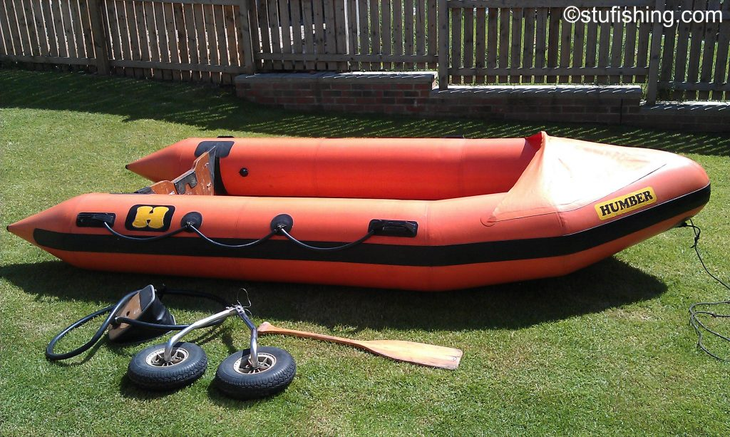 Humber inflatable boat side view
