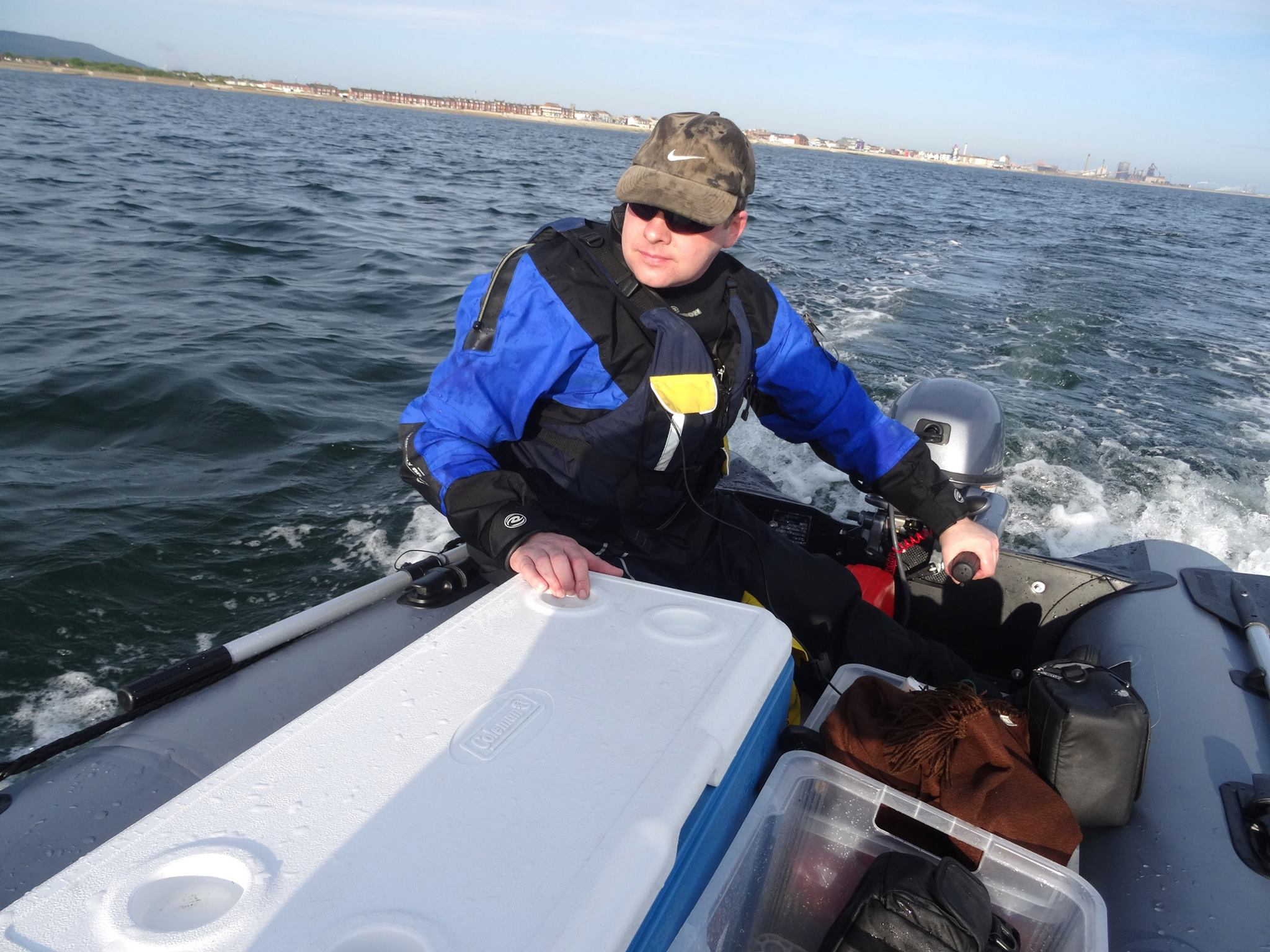 Running in the Yamaha 9.9 HP 4 Stroke Outboard