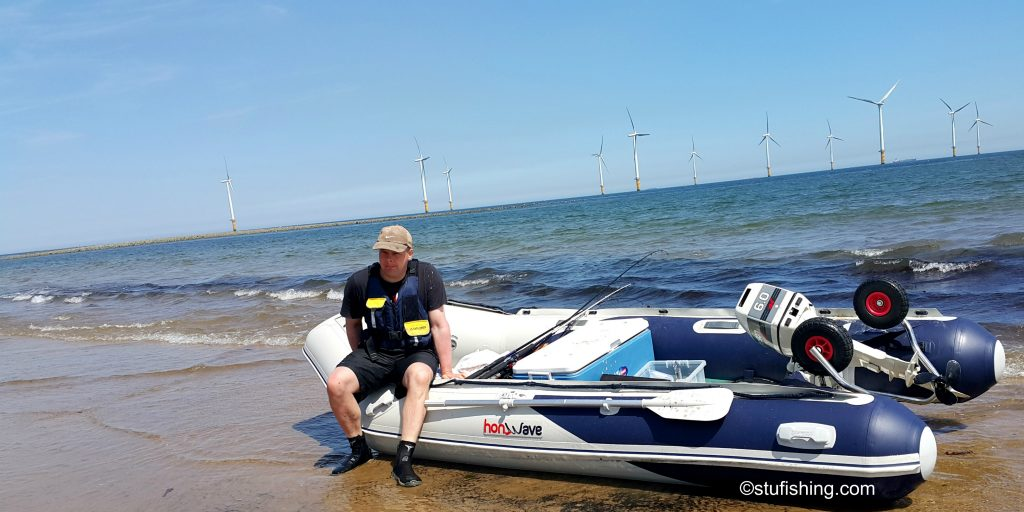 Honda Honwave T38 IE Inflatable Boat Time for a Rest
