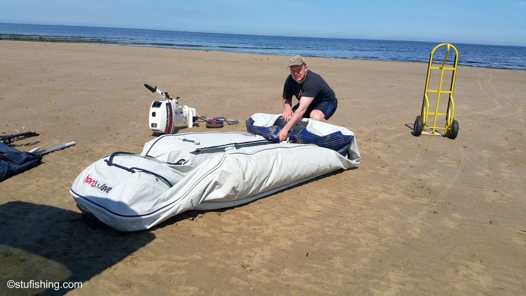Honda Honwave T38 IE Inflatable Boat Packing Away