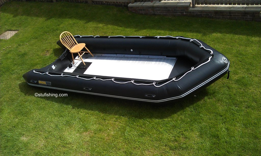 Excel Inflatable Boat - 535 XHD view above