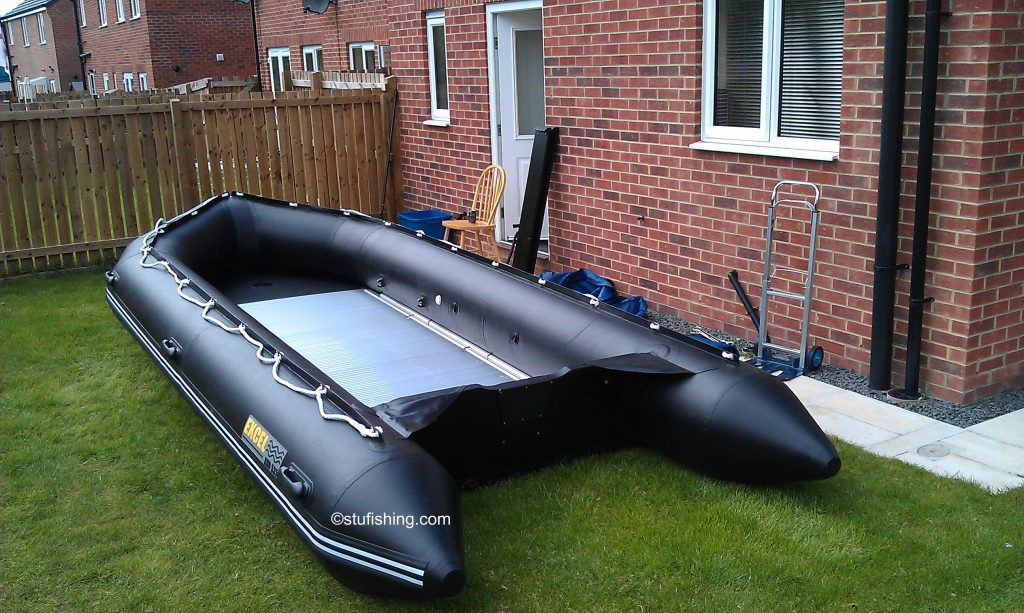 Excel Inflatable Boat - 535 XHD rear view