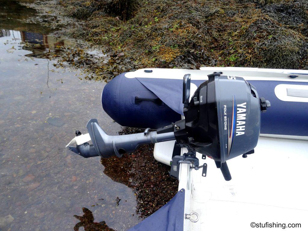 Honda Honwave T38 inflatable boat Yamaha 2.5