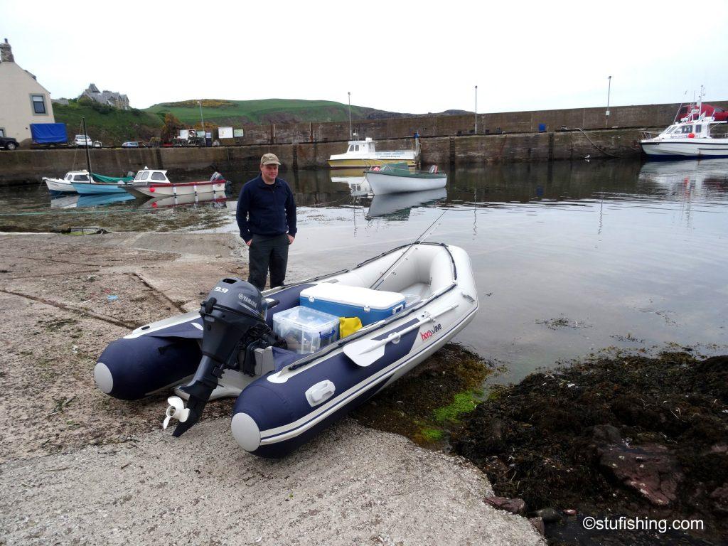 Honda Honwave T38 inflatable boat me pic