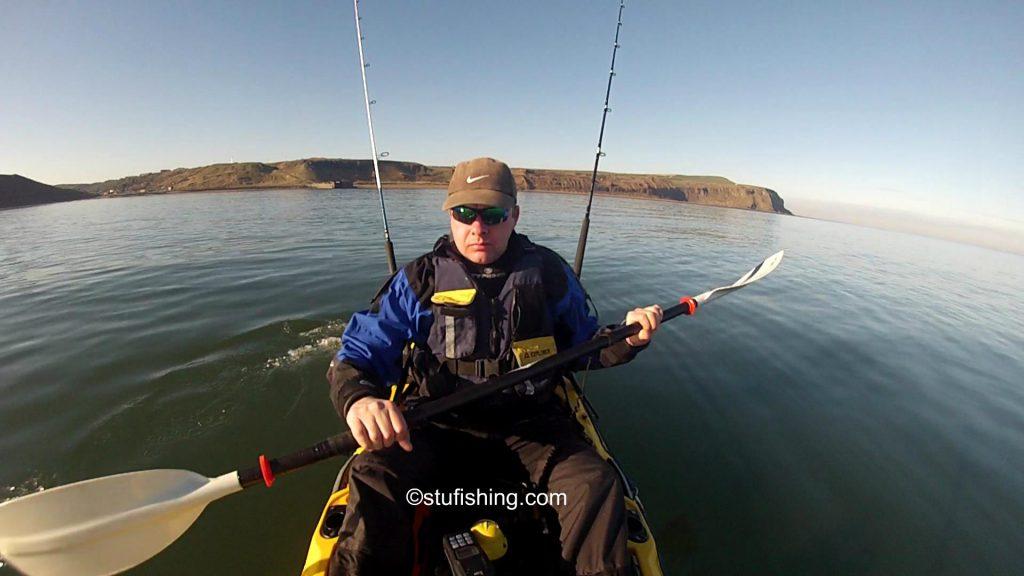 Ocean Kayak Prowler Ultra 4.3 Fishing Kayak on the water