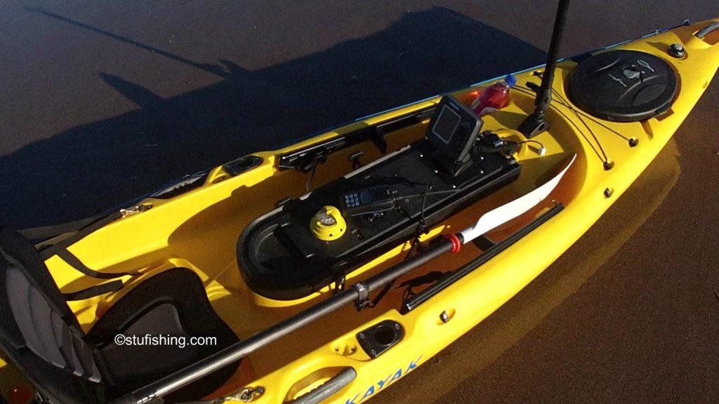Ocean Kayak Prowler Ultra 4.3 Fishing Kayak top view