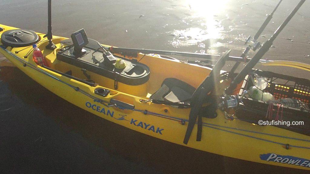 Ocean Kayak Prowler Ultra 4.3 Fishing Kayak close up