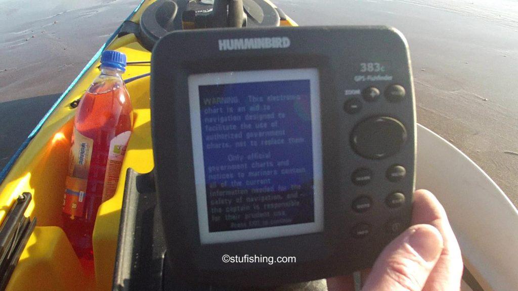 Ocean Kayak Prowler Ultra 4.3 Fishing Kayak fish finder