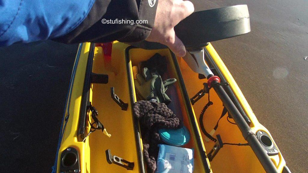 Ocean Kayak Prowler Ultra 4.3 Fishing Kayak hatch