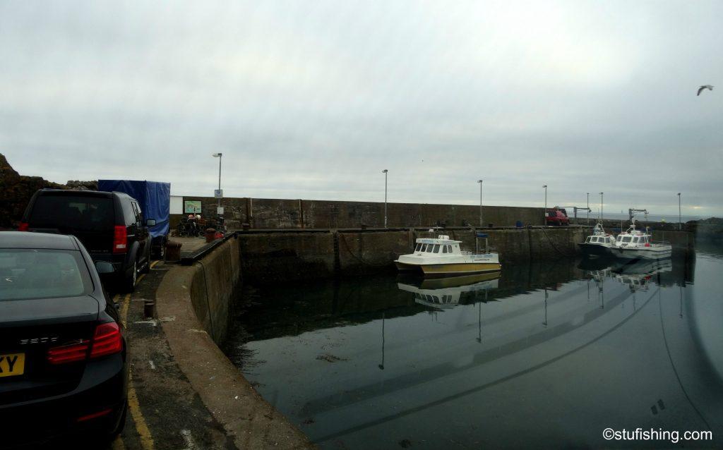 St Abbs harbour Scotland