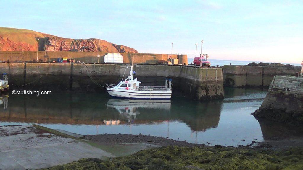 St Abbs Kayak Fishing Low Tide