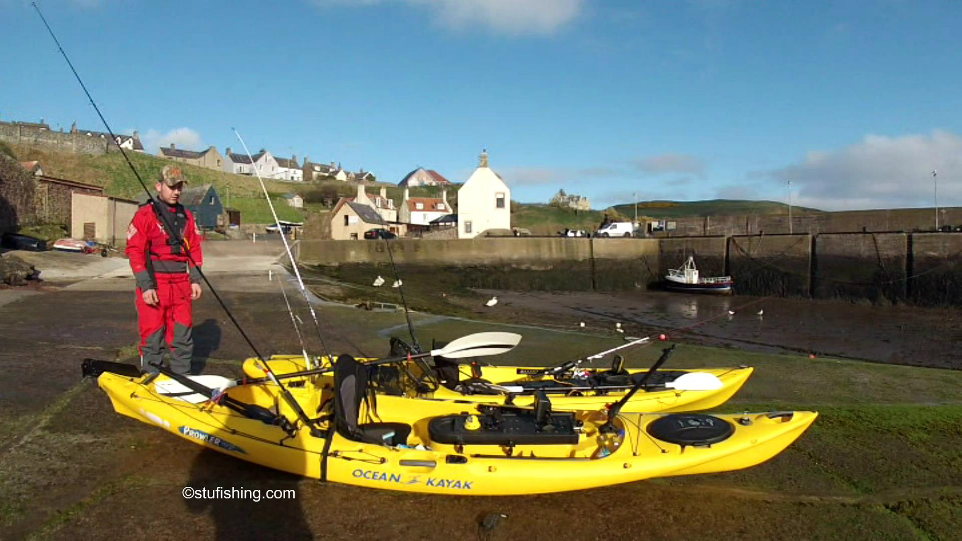 Kayak Fishing at St Abbs – What a Place