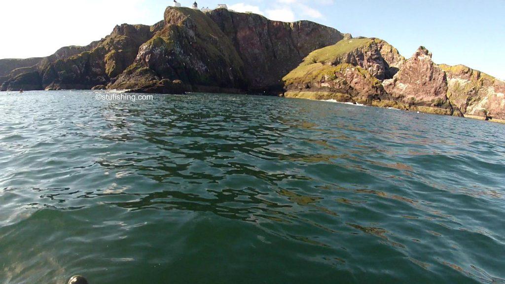 Kayak Fishing at St Abbs Lighthouse