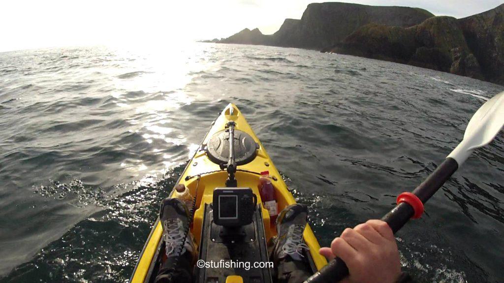 St Abbs Kayak Fishing Paddling