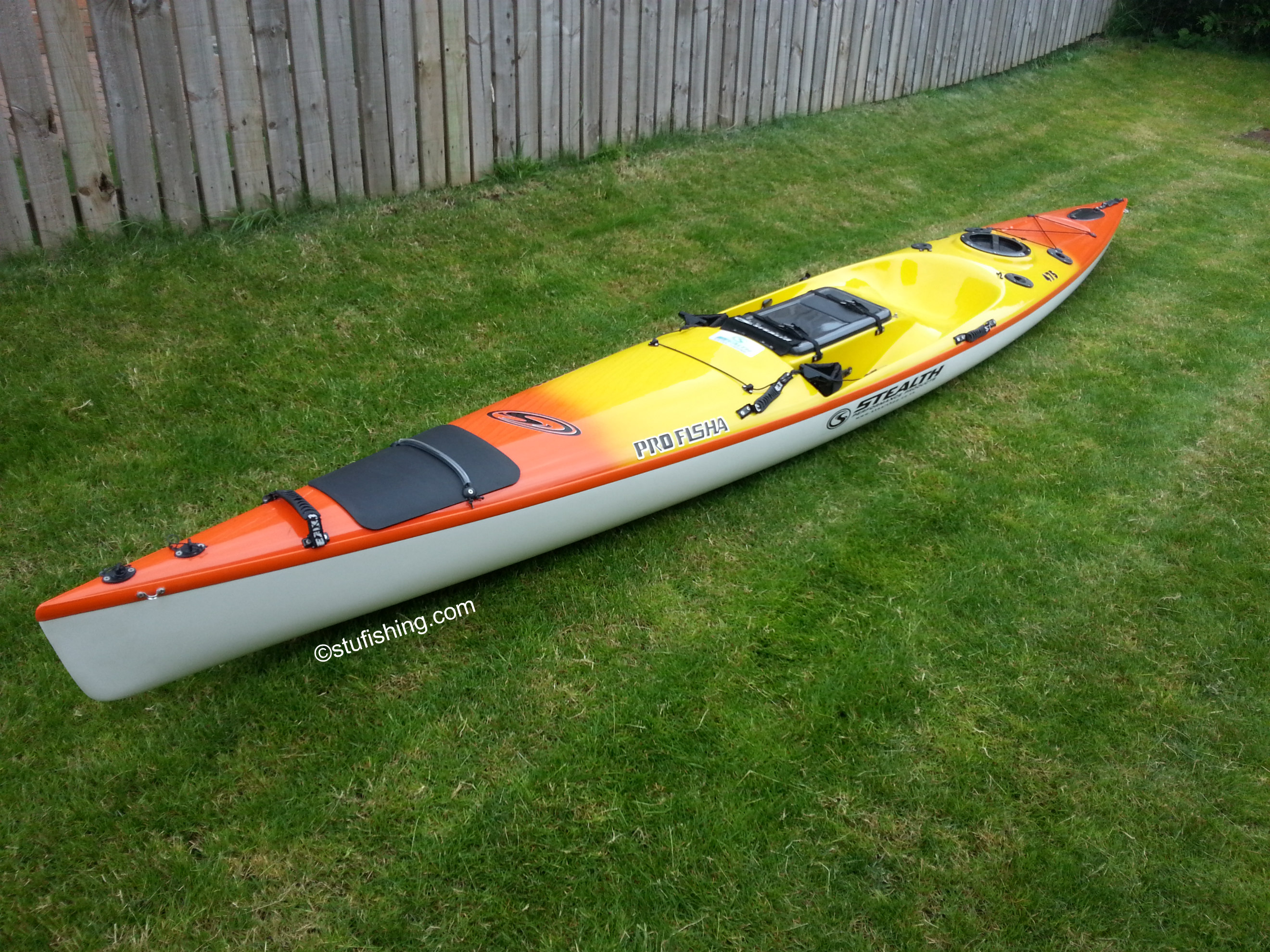 Stealth Kayaks - Profisha 475 Fishing Kayak garden