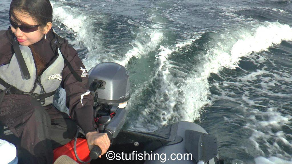 Yamaha 9.9 outboard motor jan driving