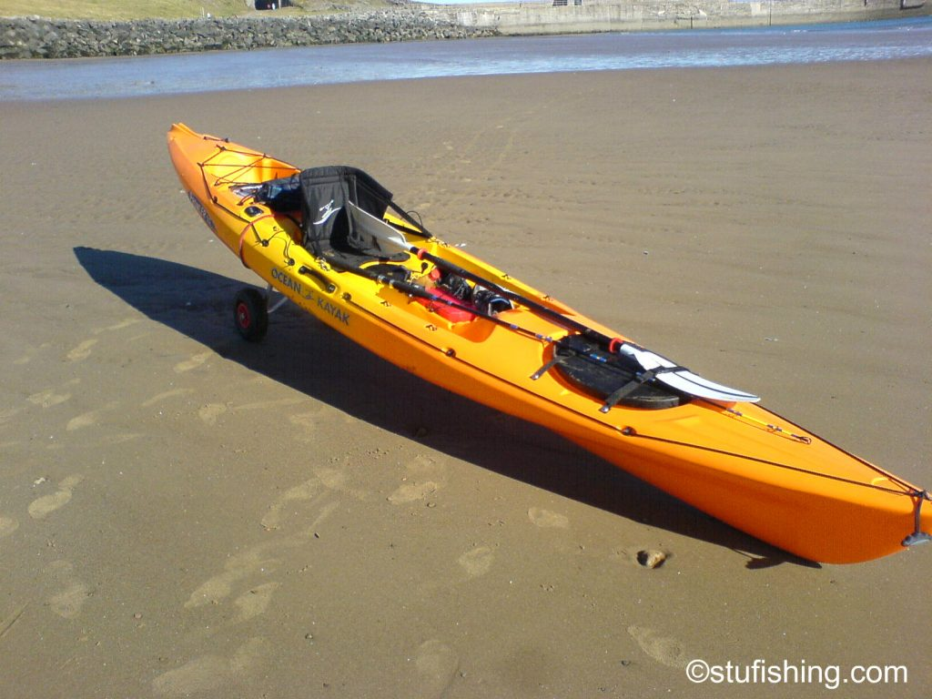 Ocean Kayak Prowler Elite 4.5 Fishing Kayak Front View