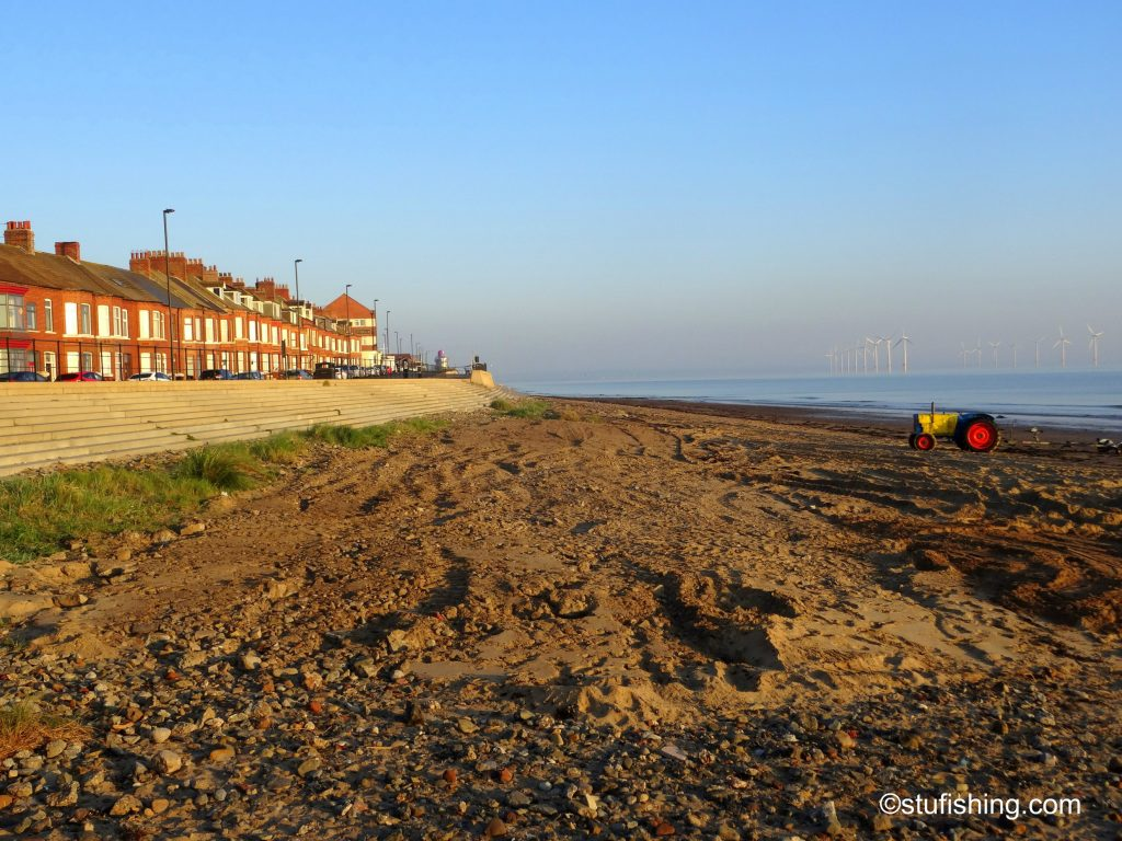 Kayak Fishing Redcar beach