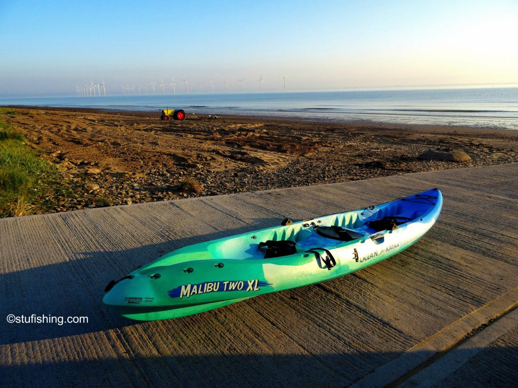 Ocean Kayak Malibu 2XL Fishing Kayak slipway