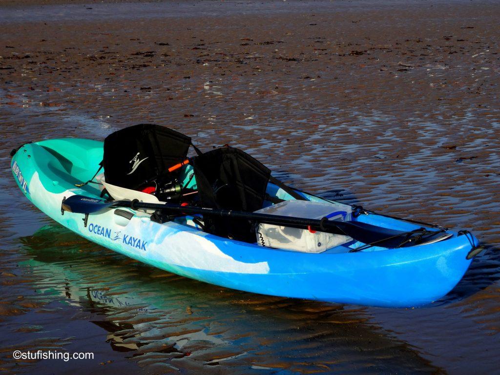 Ocean Kayak Malibu 2XL Fishing Kayak side view