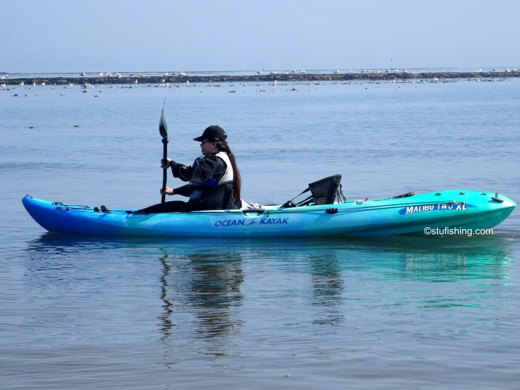 Ocean Kayak Malibu 2XL Fishing Kayak jans go 2