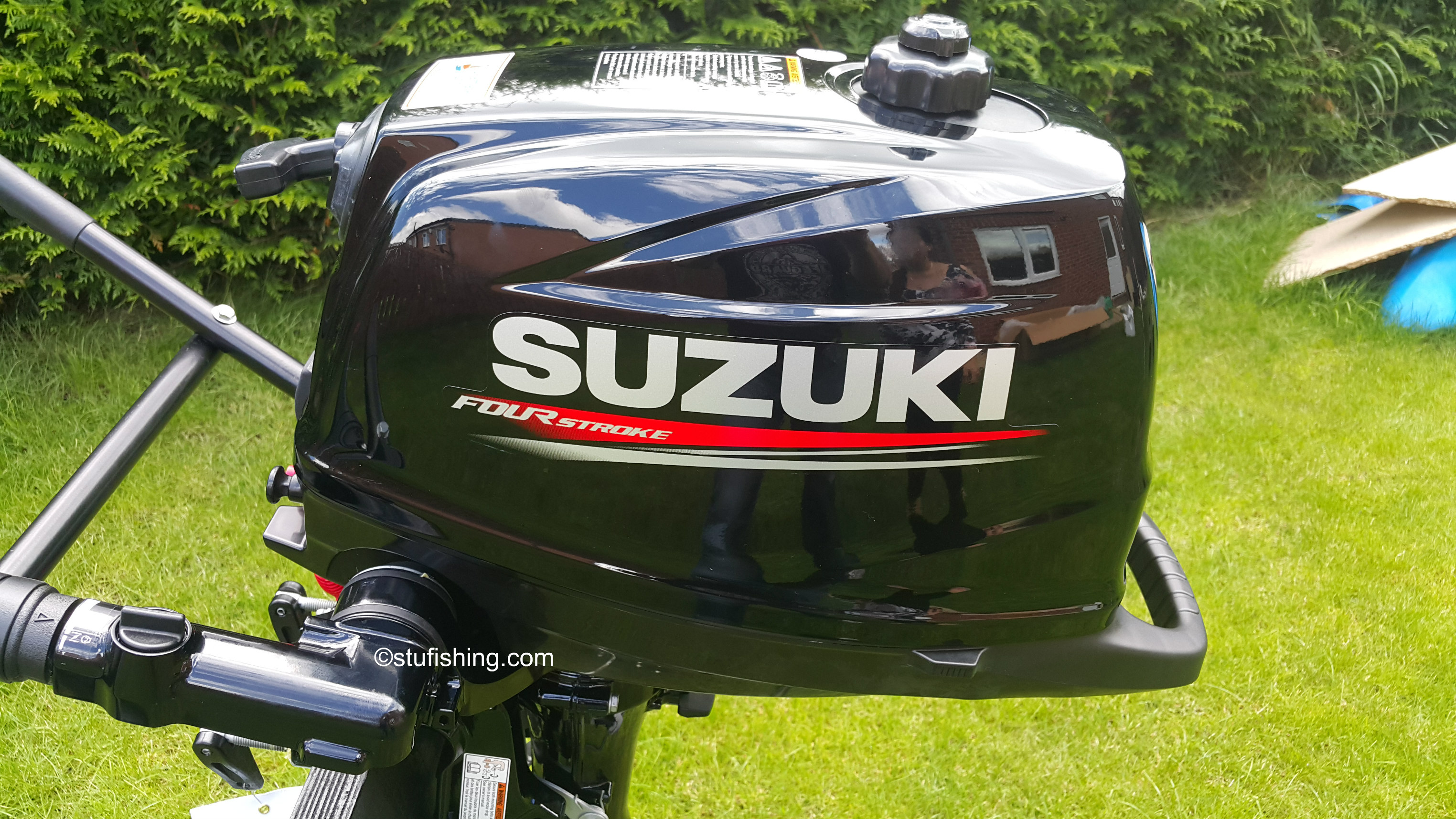 Suzuki Df6a 6hp Outboard Motor 4 Stroke Stufishing Horsepower 5 Model 5hp 2