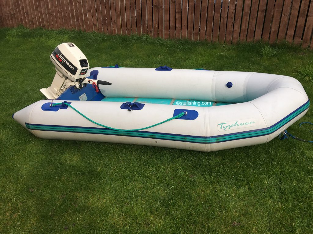 Avon Typhoon Inflatable Boat side view