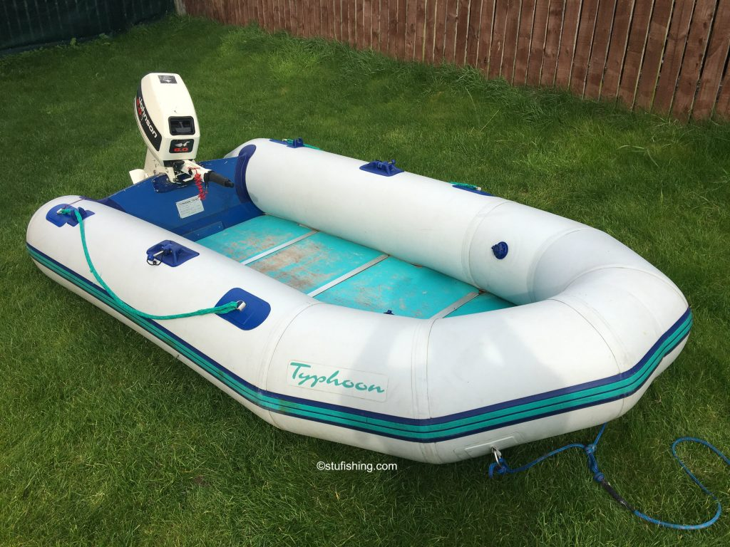 Avon Typhoon Inflatable Boat high view