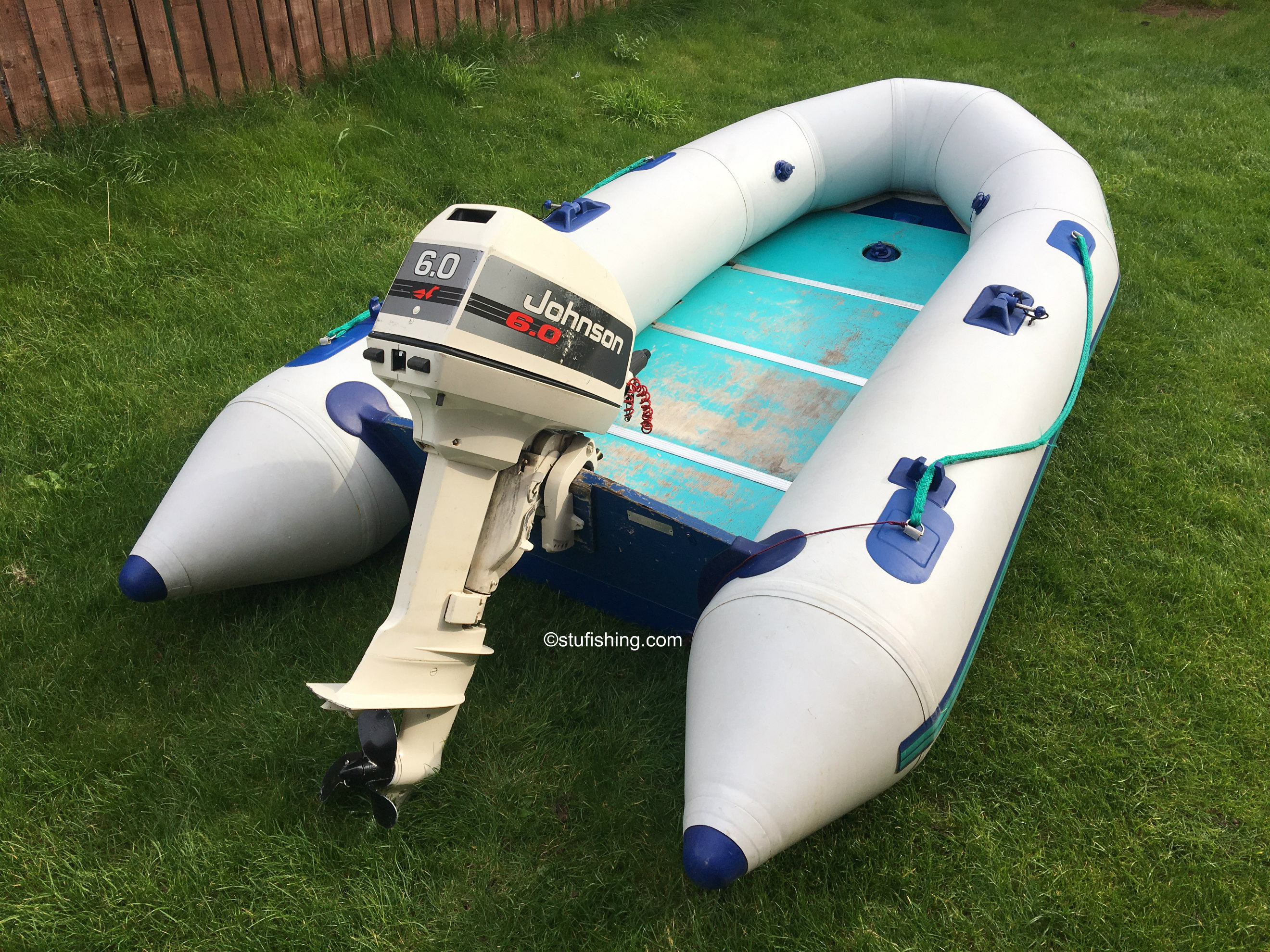Avon Typhoon Inflatable Boat rear view 1