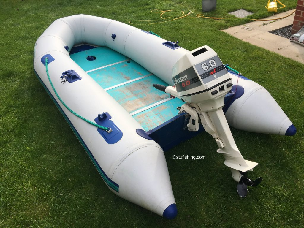 Avon Typhoon Inflatable Boat rear view 2
