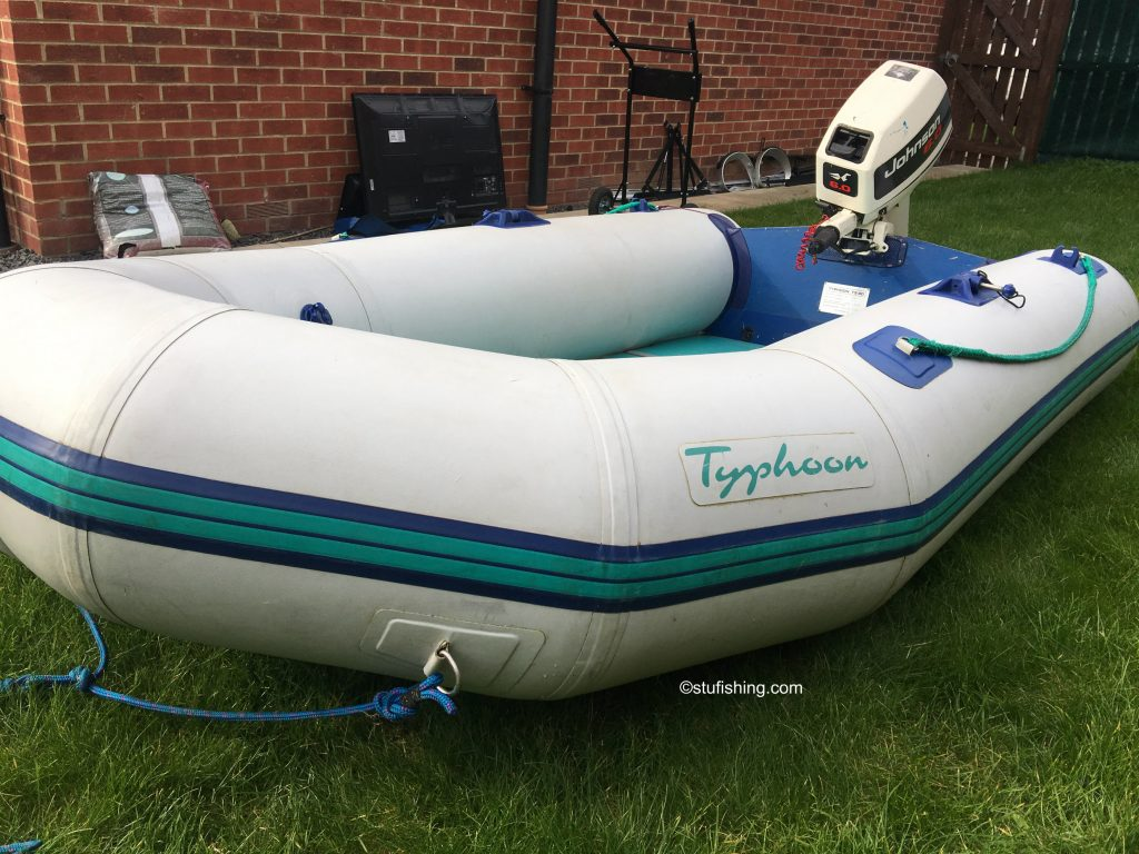 Avon Typhoon Inflatable Boat front side view 1