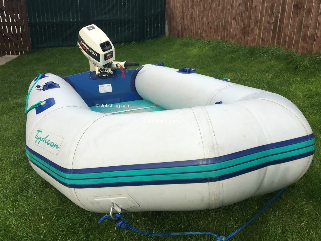 Avon Typhoon Inflatable Boat front side view 2