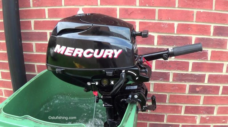 The Mercury 3.5 hp 4 Stroke Outboard Motor